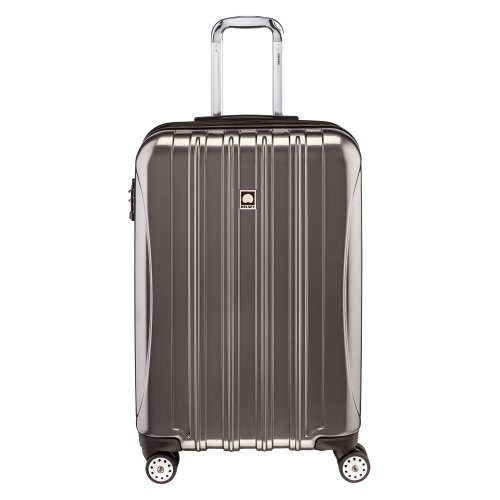 Delsey Luggage Helium Aero 25 Inch Expandable Spinner Trolley, Titanium,One Size (Delsey Luggage Helium Trolley compare prices)