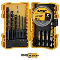 Dewalt DWA2SLS40HP Black Oxide Screwdriving Drilling Set (40-Piece)
