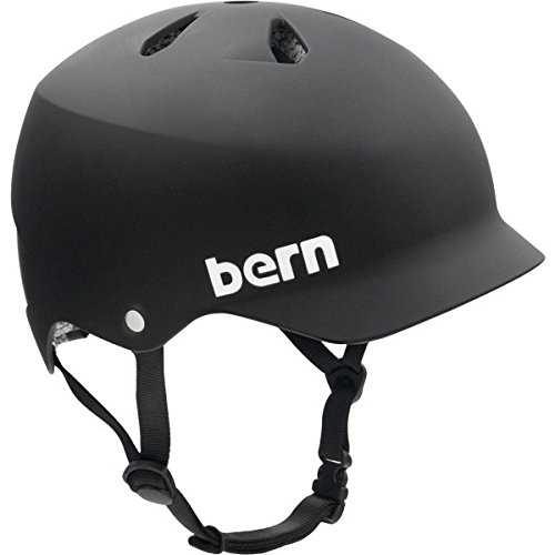 Bern Watts Matte Black [X-Large] Skateboard Helmet