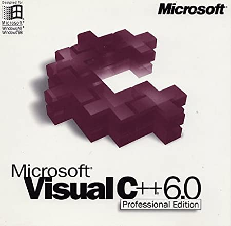 Visual C++ 6.0 Professional Edition, Full Version