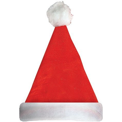 Santa Hat with Felt 13in