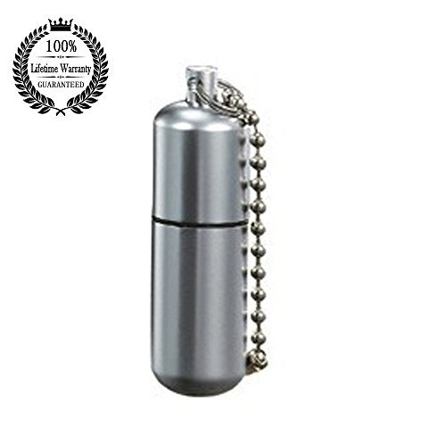 Meanhoo Survival Waterproof Peanut Capsule mini Lighter Cigarette Cigar Refillable Oil Lighter Torch Key Chain