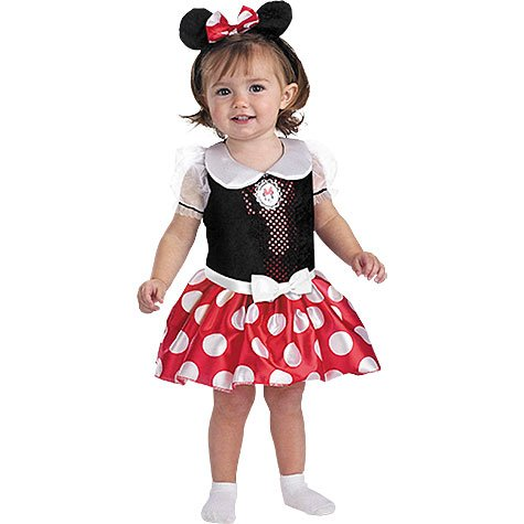 Disney Mickey Mouse Minnie Mouse Classic - Tamaño: 3T - 4T