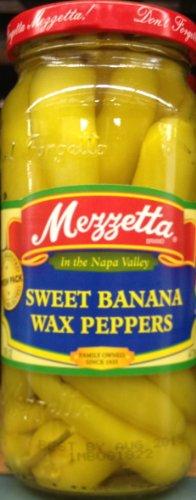 Mezzetta Sweet Banana Wax Peppers 16oz (Mezzetta Hot Banana Wax Peppers compare prices)