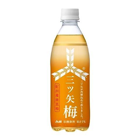 アサヒ 三ツ矢サイダー 梅 500ml 1ケース(24本)