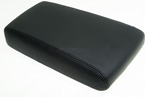 Fits 1996-2004 Nissan Pathfinder Synthetic Black Leather Console Lid Armrest Cover . (Vinyl Part Only) (Nissan Pathfinder Armrest Cover compare prices)