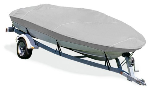 Taylor Made Products Trailerite Semi-Custom Boat Cover for V-Hull Fishing Boats with Outboard Motor
