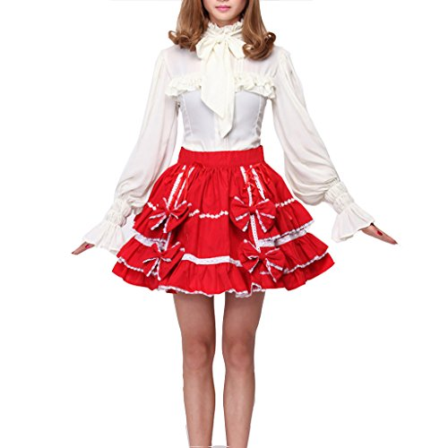 Cuterole Women's Sexy Japan Cosplay Lolita Maid Halloween Fancy Dress
