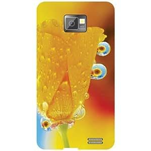 Samsung I9100 Galaxy S2 - Yellow Bud Phone Cover