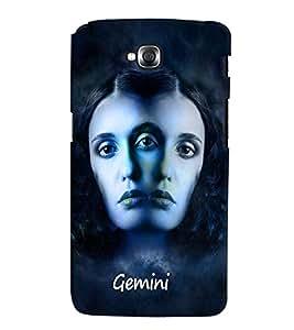 PrintVisa Zodiac Gemini 3D Hard Polycarbonate Designer Back Case Cover for LG Gpro Lite