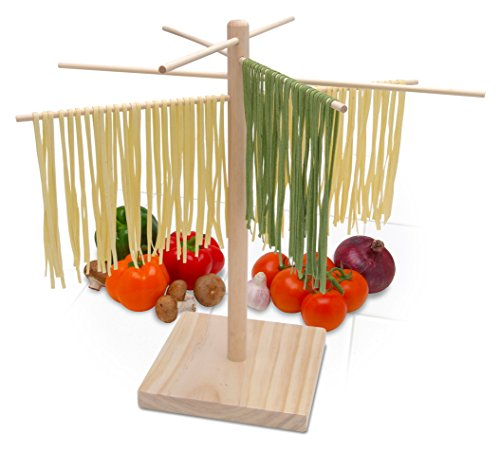 Bellemain Large Wood Pasta Drying Rack (Pasta Drying Rack Wood compare prices)