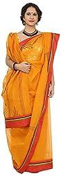 SHRI BALAJI SILK & COTTON SAREE EMPORIUM Women's Cotton Saree (1(24))