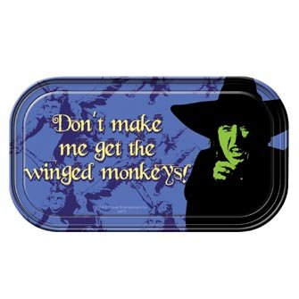 Wizard Oz Wicked Witch Magnetic Metal Sign Plaque
