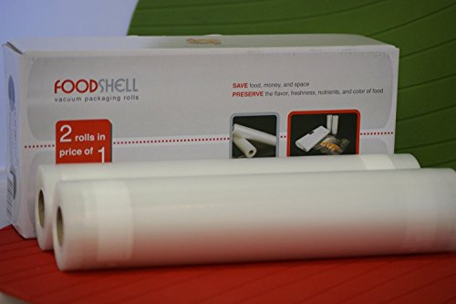 Foodshell Vacuum Packaging 11inch (2Rolls) (Foodshell Vacuum Food Sealer compare prices)