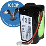 HQRP Extended 1800mAh Battery compatible with Summer Infant McNair 0209A, 02090, 0210A, 02720, HK1100AAE4BMJS, Dantona CUSTOM-143 Day and Night Baby Video Monitor + Coaster