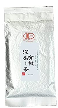 Ocha & Co. Premium Organic Japanese Fukamushi Deep-Steamed Sencha Loose Leaf Green Tea 100g 3.5oz.