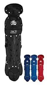 Champro Sports CG02 Adult Contour Fit 16 1/2 inch Leg Guards (Ages 15 and up)