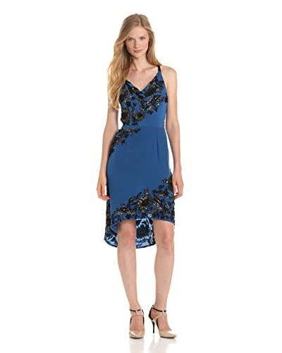 Tracy Reese Women's Floral Beaded Slip Dress
