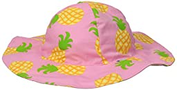 i play. Baby Girls\' Mod Brim Sun Protection Hat, Pink Pineapple, 2 4 Years