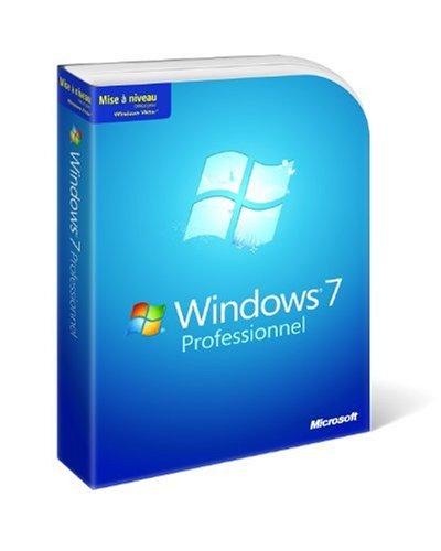 Microsoft Windows 7 Professional Upgrade French (vf)