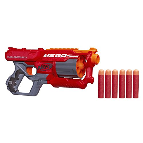 Nerf N-Strike Elite Mega CycloneShock Blaster (Nerf Gun For Boys compare prices)