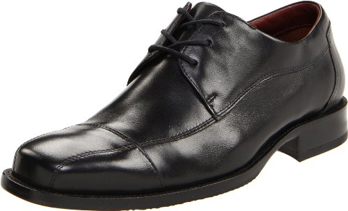Johnston & Murphy Men's Dobson Cap Oxford,Black,10.5 M