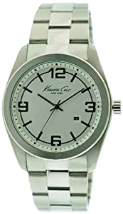 Kenneth Cole New York Bracelet Silver-white Dial Men's watch #KC3913