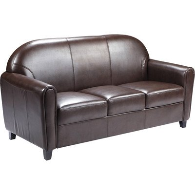 Flash Furniture Hercules Envoy Series Brown Leather
