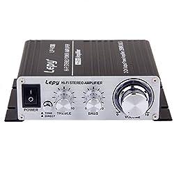 Generic DC 12V Hi-Fi Stereo Audio Mini Amplifier for Home/Car Motorcycle Black