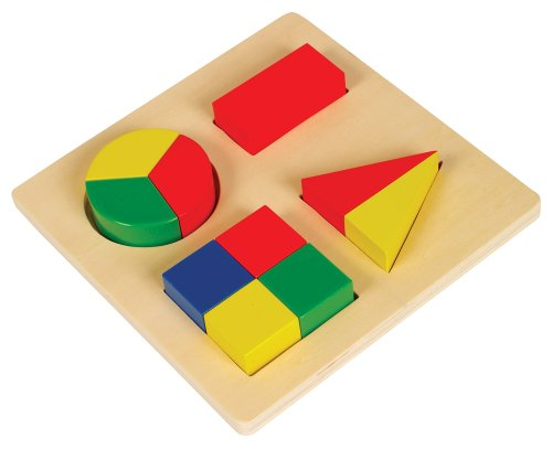 Small World Toys Ryan's Room Wooden Toys - Make-A-Shape Sorter