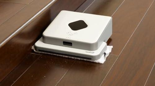 (フローリングお掃除ロボット)Mint [ミント] オートマティック フロアクリーナー/専用マイクロファイバーパット3枚付き