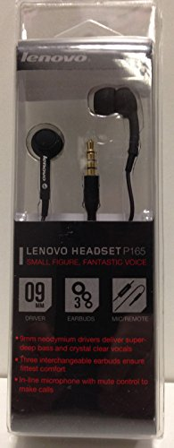 LENOVO IN EAR HEADSET P165
