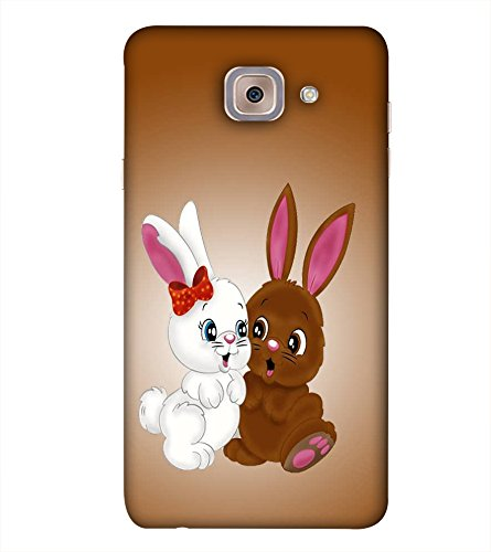 PrintVisa Designer Back Case Cover For Samsung Galaxy On Max (Love Lovely Two Pet Pets)