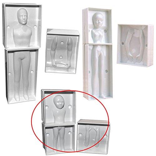 モデリング 用 モールド 【 子供 】 人形製作 用 ベース型枠 【 オリジナル製作用 】 Child