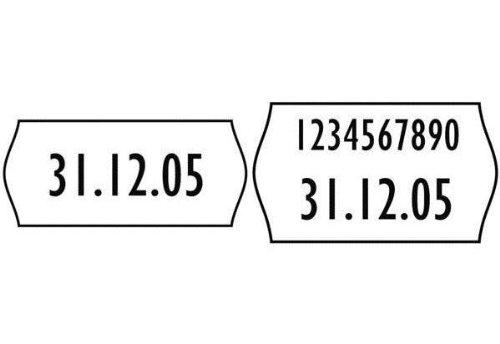 AVERY ZWECKFORM étiquettes pour pince à étiqueter, 26 x 16mm
