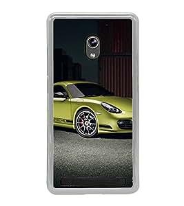 Luxury Car 2D Hard Polycarbonate Designer Back Case Cover for Asus Zenfone 6 A600CG