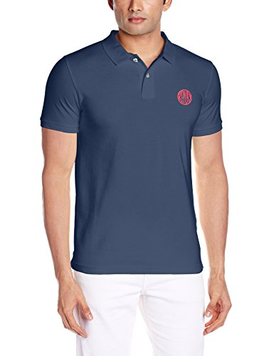 Replay -  Polo  - Maniche corte  - Uomo Blu Blau (DARK AVION BLUE 177) L