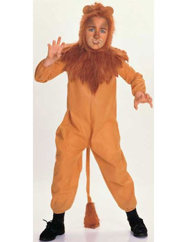 Cowardly Lion Child Medium Kids Boys Costume