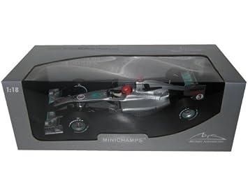 Minichamps f1 mercedes gp rosberg Showcar 2010 1/18