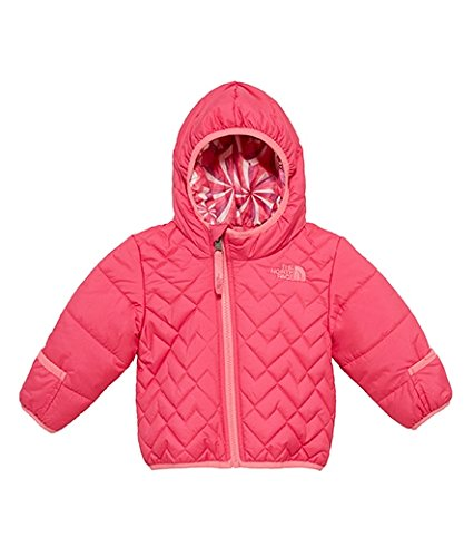 The North Face Baby Girls' Reversible Perrito Jacket - cabaret pink, 18 - 24