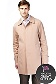 Pure Cotton Classic Collar Raincoat