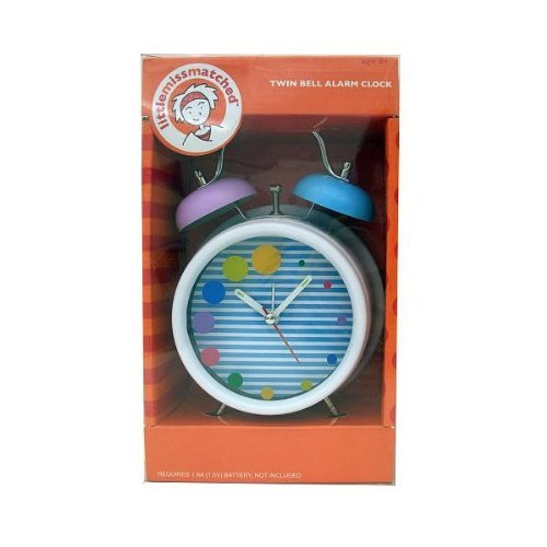 LittleMissMatched Bell Clock by Little