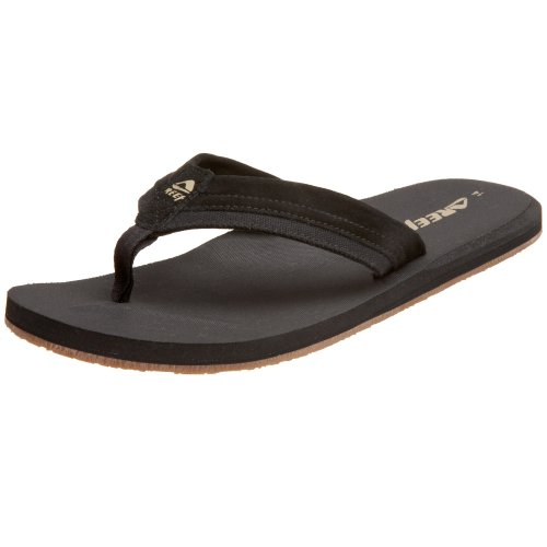 Reef Men's Stuyak Sandal,Black,12 M US