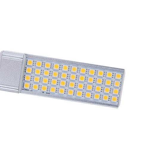 S6Store® 7W G24 Ac 85-265V 44 Leds E27 Smd 5050 180 Degree Warm White Led Bulb Lamp Light For Home For Business Spotlight