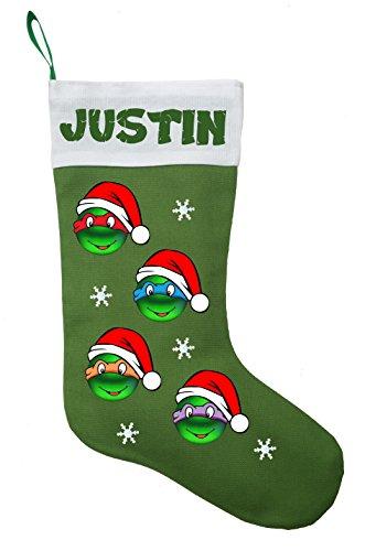 Teenage Mutant Ninja Turtle Christmas Stocking - Personalized (Ninja Turtle Stocking compare prices)