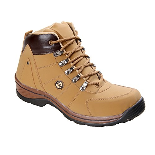 CNS Men's Casual Tan Synthetic Leather Boot