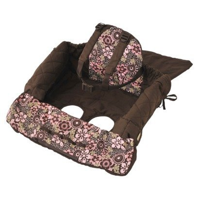 Big Save! Eddie Bauer Shopping Cart Cover, Floral Print