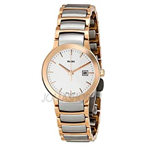 com: Rado Centrix Rose Gold-tone Ladies Watch R30555103: Rado: Watches