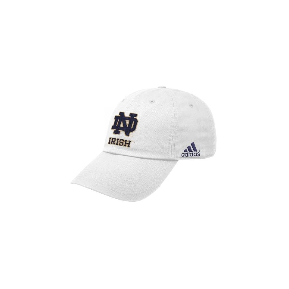 Adidas Notre Dame Fighting Irish White Achiever Hat