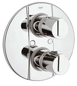 grohe grohtherm 2000 brausemischer mit up thermostat 3 4 zoll baumarkt. Black Bedroom Furniture Sets. Home Design Ideas